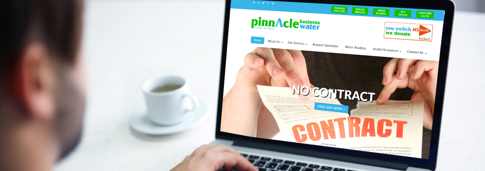 Pinnacle Water Business Glasgow How To Switch